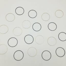 Wolfkat kettingen geometrics cirkels
