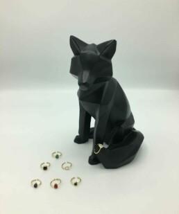 Wolfkat ringen Wolf 'n Stones