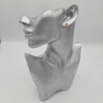 wolfkat oorbellen she wolf creolen 11mm goud